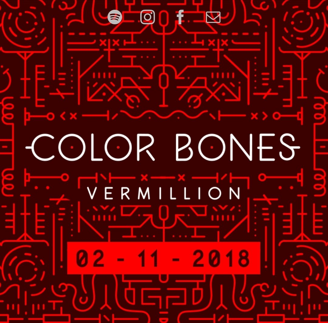 New album by @Colorbonesmusic -…